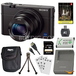 Cyber-shot DSC-RX100 III 20.2 MP Lightroom 5 Bundle