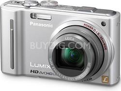 DMC-ZS7S LUMIX 12.1 MP Digital Camera with 16x Intelligent Zoom (Silver)