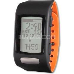 Core C200 Heart Rate Monitor - Black/Tangerine (LTK7C2001)