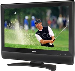 "LC-32D41U - AQUOS 32"" High-definition LCD TV w/ PC input"