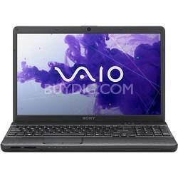 "VAIO VPCEH34FX/B 15.5"" Notebook PC -  Intel Core i3-2350M Processor"