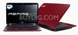 "Aspire one 11.6"" Netbook PC - Red (AO751H-1259)"