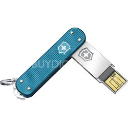 Alox 16GB Slim Flight Blue Alox USB Drive (4.6171.22G16)