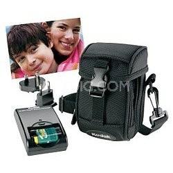 Digital Camera Starter Kit - Case, Battery, Charger + SD Card - OPEN BOX