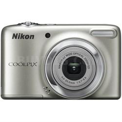 COOLPIX L25 10.1 MP 5x Zoom Digital Camera - Silver (Factory Refurbished)