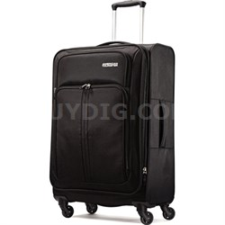 "Splash Spin LTE 24"" Black Spinner Luggage"