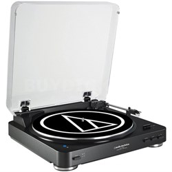 Fully Automatic Bluetooth Wireless Belt-Drive Stereo Turntable - Black