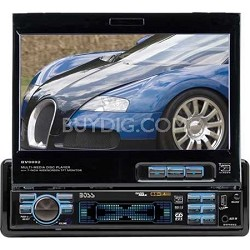 """In-Dash 7"""" DVD/MP3/CD Widescreen Receiver with USB, SD Card, and Front Panel AUX"""