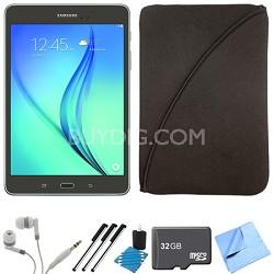 Galaxy Tab A 9.7-Inch Tablet (16 GB, Smoky Titanium) 32GB Memory Card Bundle