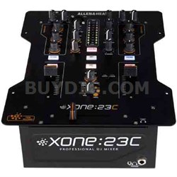 High Performance DJ Mixer + Internal Soundcard - XONE:23C