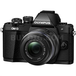 OM-D E-M10 Mark II Mirrorless Digital Camera with 14-42 IIR Lens (Black)