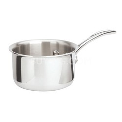 1-qt. Tri-Ply Stainless Steel Open Sauce Pan - 1767953