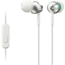 Step-Up EX Series In-Ear Headphones in White - MDREX110AP/W