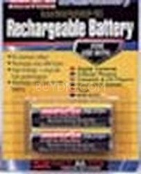 Pack OF 4 AA NMH Rechargeable Batteries (charger not included)