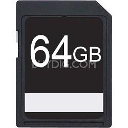 64GB SDXC Class 10 High Speed Memory Card