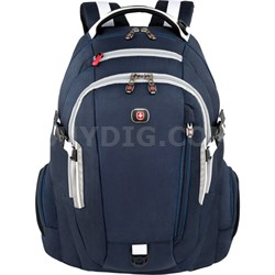"Commute Deluxe Laptop Backpack for Notebooks up to 16"" (Blue)"