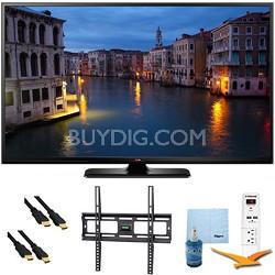 "60PB6650 - 60"" Full HD 1080p 600Hz Smart Plasma TV Plus Mount & Hook-Up Bundle"