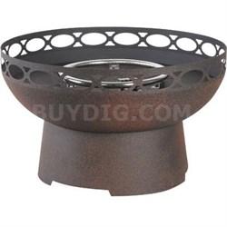 Cosentino Steel Gas Firebowl