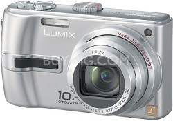 DMC-TZ3S Lumix 7.2 mega-pixel Digital Camera (Silver) w/ 10x Optical Zoom