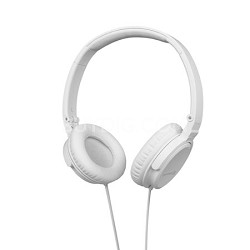 DTX 350p Foldable Headphones (White)