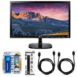 "22"" Full HD IPS Monitor w/ Accessory Hook up Bundle"