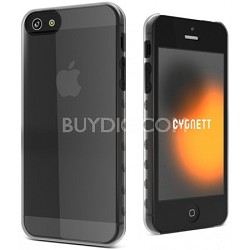 AeroGrip Crystal Clear Ergonomic iPhone 5 Case