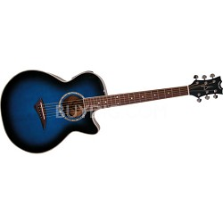 Performer E Electric-Acoustic Guitar - Blue Burst