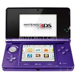 3DS Portable Gaming Console - Midnight Purple