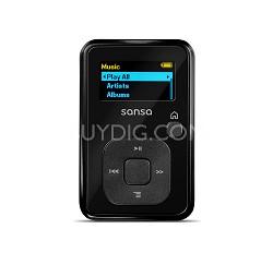 Sansa Clip Plus 4GB Black MP3 Player  ( SDMX18R-004GK-A57)