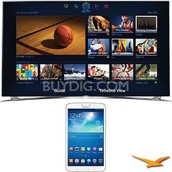 "UN55F8000 - 55"" 1080p 240hz 3D Smart Wifi LED HDTV - 8-Inch Galaxy Tab 3 Bundle"