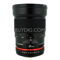 35mm F/1.4 AS UMC Wide Angle Lens for Pentax RK35M-P