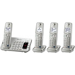 KX-TGE274S DECT 6.0 Link2Cell Bluetooth Cellular Convergence Solution 4 Handsets