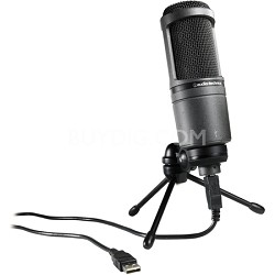 AT2020USB Condenser USB Microphone