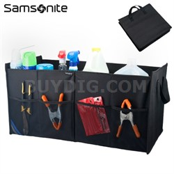 Trunk Organizer for Tools, Emergency Gear, Groceries and more