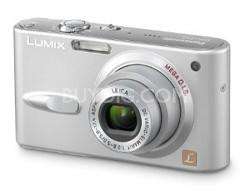"DMC-FX3 (Silver) Lumix 6 megapixel Digital Camera w/ 2.5"" TFT LCD - OPEN BOX"