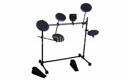Electronic Drum Kit with Headphones
