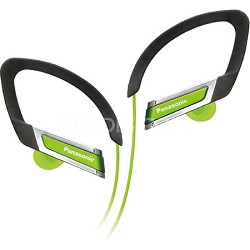RP-HS220-G Inner Ear Clip Sports Earphones with Extension (Green)
