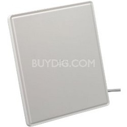 Multi-Directional Digital Flat Amplified HDTV Antenna (White)
