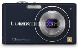 DMC-FX37A - Stylish Compact 10 Megapixel Digital Camera (Blue)