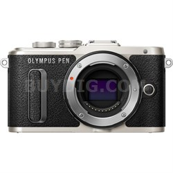 PEN E-PL8 16.1 MP Wi-Fi Black Mirrorless Digital Camera Body