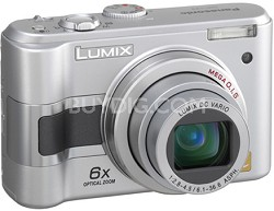 DMC-LZ3S (Silver) Lumix 5-Megapixel Digital Camera w/ 6x Optical Zoom