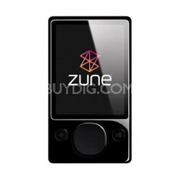 Zune 120 GB Digital Media MP3 Player (Black)