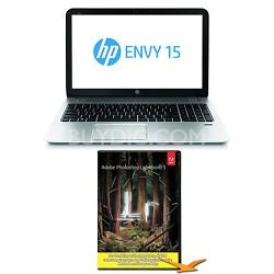 """Envy 15.6"""" 15-j175nr Notebook PC AMD Quad-Core - Photoshop Lightroom Bundle"""