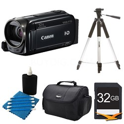 VIXIA HF R52 1080/60p HD 3-inch Touch Panel Display Camcorder Kit