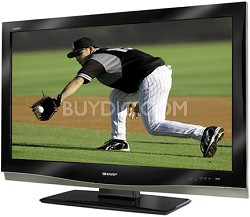 "LC-42D62U - AQUOS 42"" High-definition 1080p LCD TV"