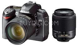 D70s Digital SLR Camera w/ 18-70mm and 55-200mm ED AF-S DX Zoom-Nikkor Lenses