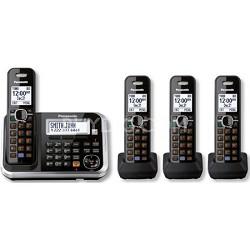 KXTG6844B Dect 6.0 1-Handset Single-Line Landline Telephone