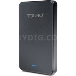 Touro Mobile MX3 1TB USB 3.0 External Hard Drive Black - Factory Refurbished