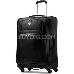 iLite Supreme 25 Inch Spinner Suitcase (Black)
