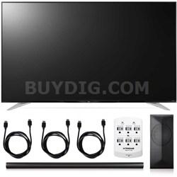 70UF7700 - 70-Inch 240Hz 2160p 4K Smart LED + LAS751M 4.1 Channel Soundbar